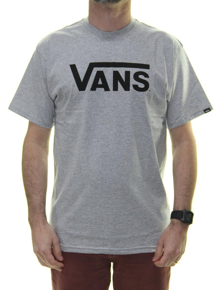 6049df85567 camiseta masculina vans classic estampada manga curta - cinz. Carregando  zoom.