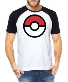 26d80e1bb2 Pokemon Go Pokebola Camisetas Masculino Manga Curta - Camisetas e Blusas no  Mercado Livre Brasil