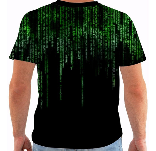 camiseta matrix - movies m009