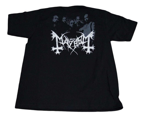 camiseta mayhem rock activity importada talla m