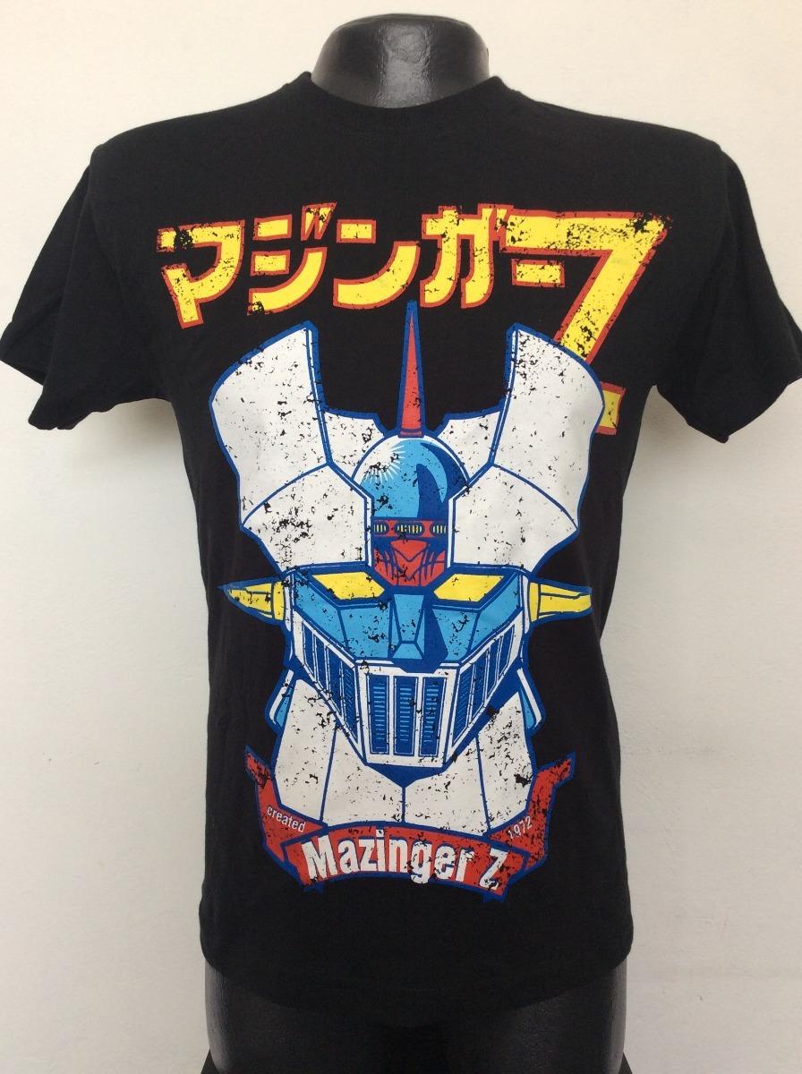 Rock Anime Clasico Cargando Mazinger Z Metal Zoom Comics Camiseta wCT4qpz