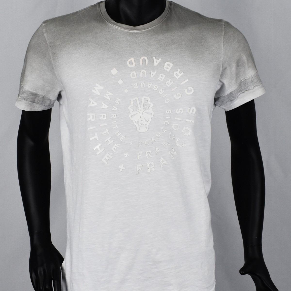 6dad211a6 Camiseta M/c De Marithe + Francois Girbaud Para Hombre - U$S 39,99 ...
