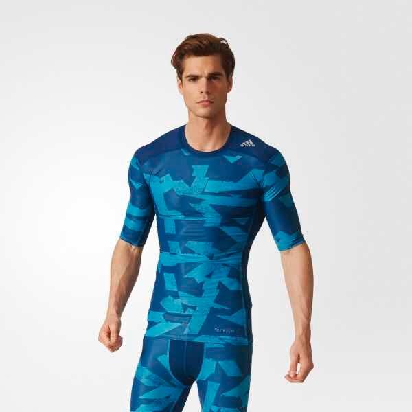 Camiseta Mc Tf Ci Gx adidas Compressão Original Novo - R  120 6d49210c4c36a