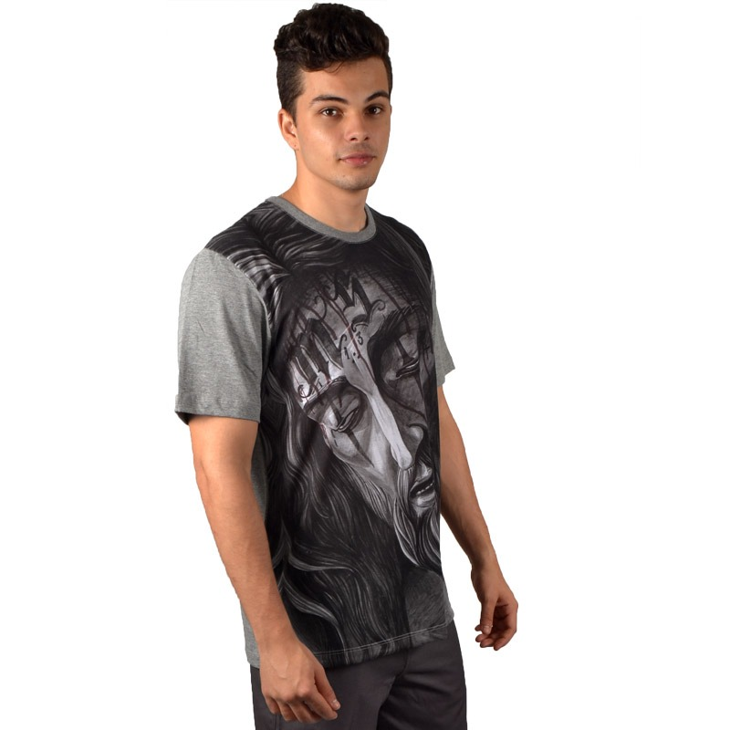 2fa25ff2d5d8c camiseta mcd especial christ cinza. Carregando zoom.