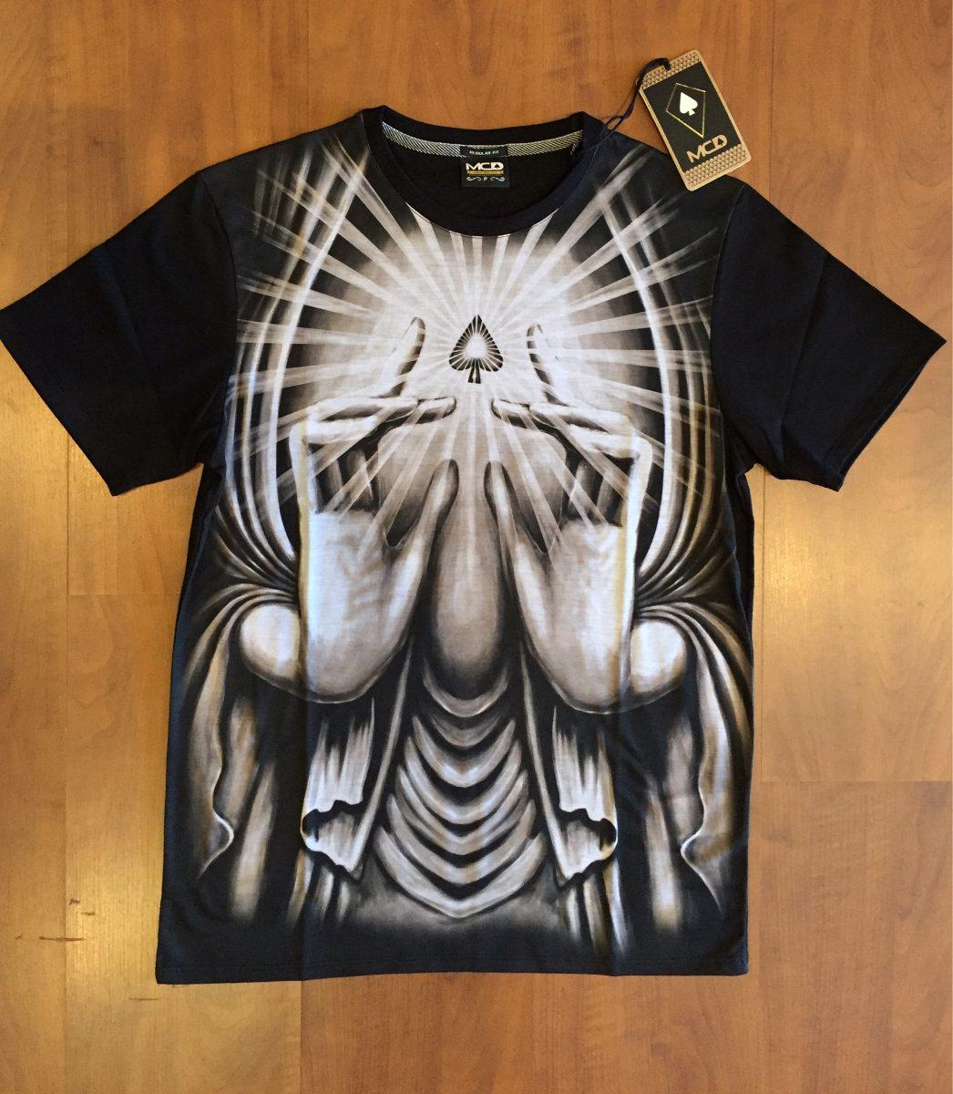 Camiseta Mcd Especial Holy Hands Colecao Nova Verão 16 17 - R  130 ... 76ecc884e70