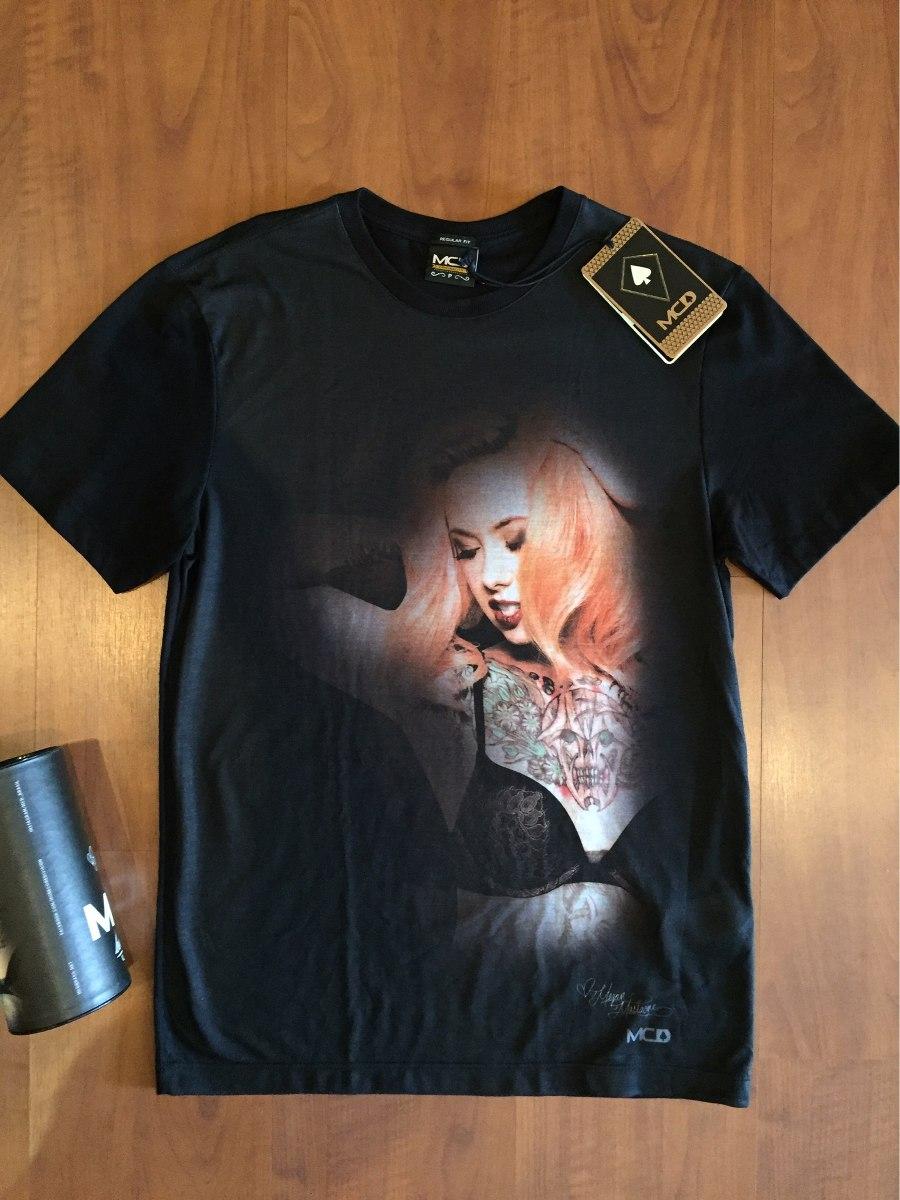 camiseta mcd especial megan massacre coleção body tattoo. Carregando zoom. 3442311d6d0