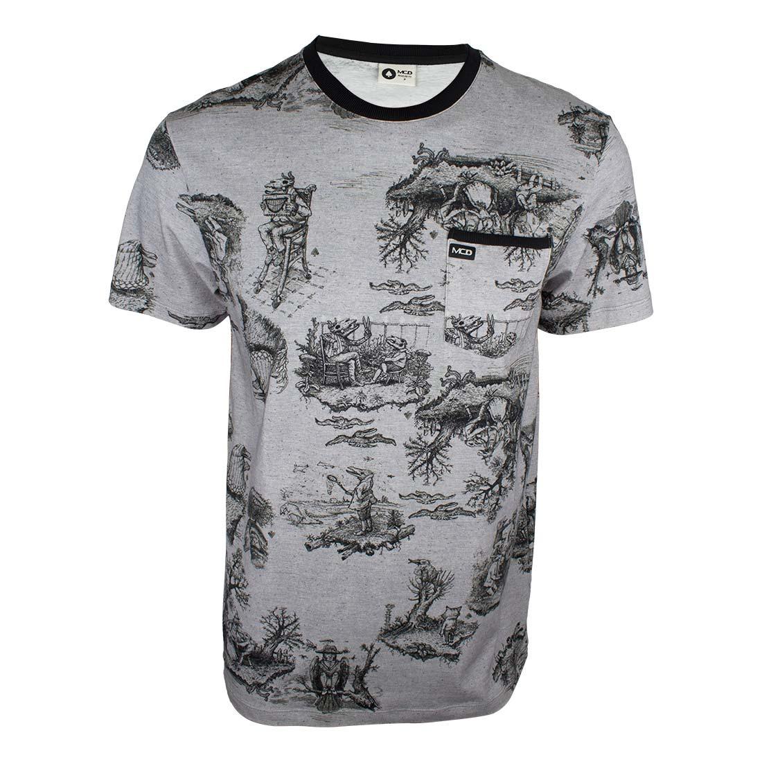 camiseta mcd especial toilet bizarre - cinza. Carregando zoom. 5de07da9e7a