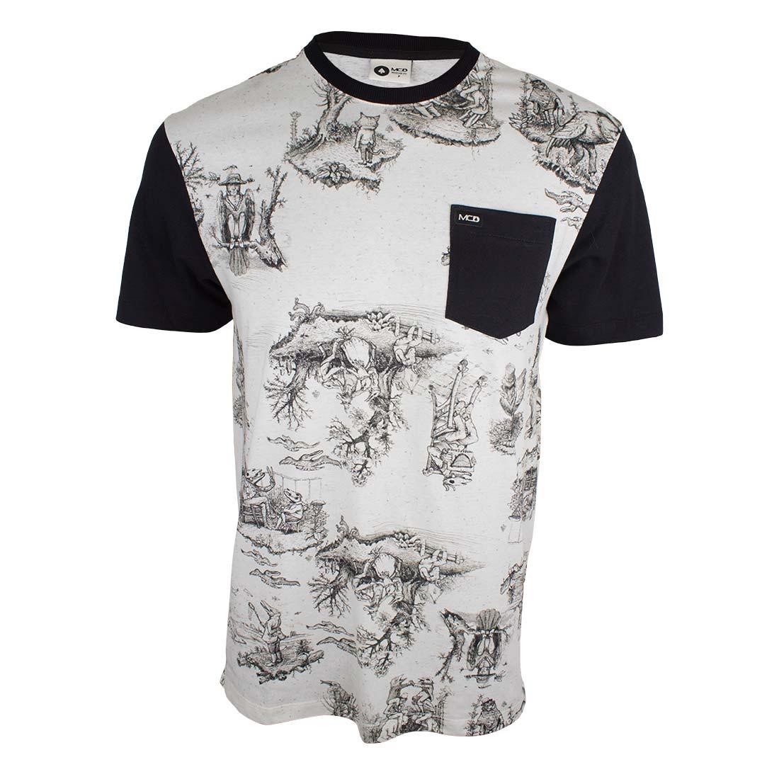 camiseta mcd especial toilet bizarre - creme. Carregando zoom. 2e8b2c6e080