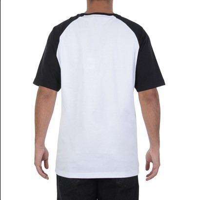 Camiseta Mcd Motorcycle Division Thunderbolt Raglan Box Fit - R  89 ... 9127a45803f