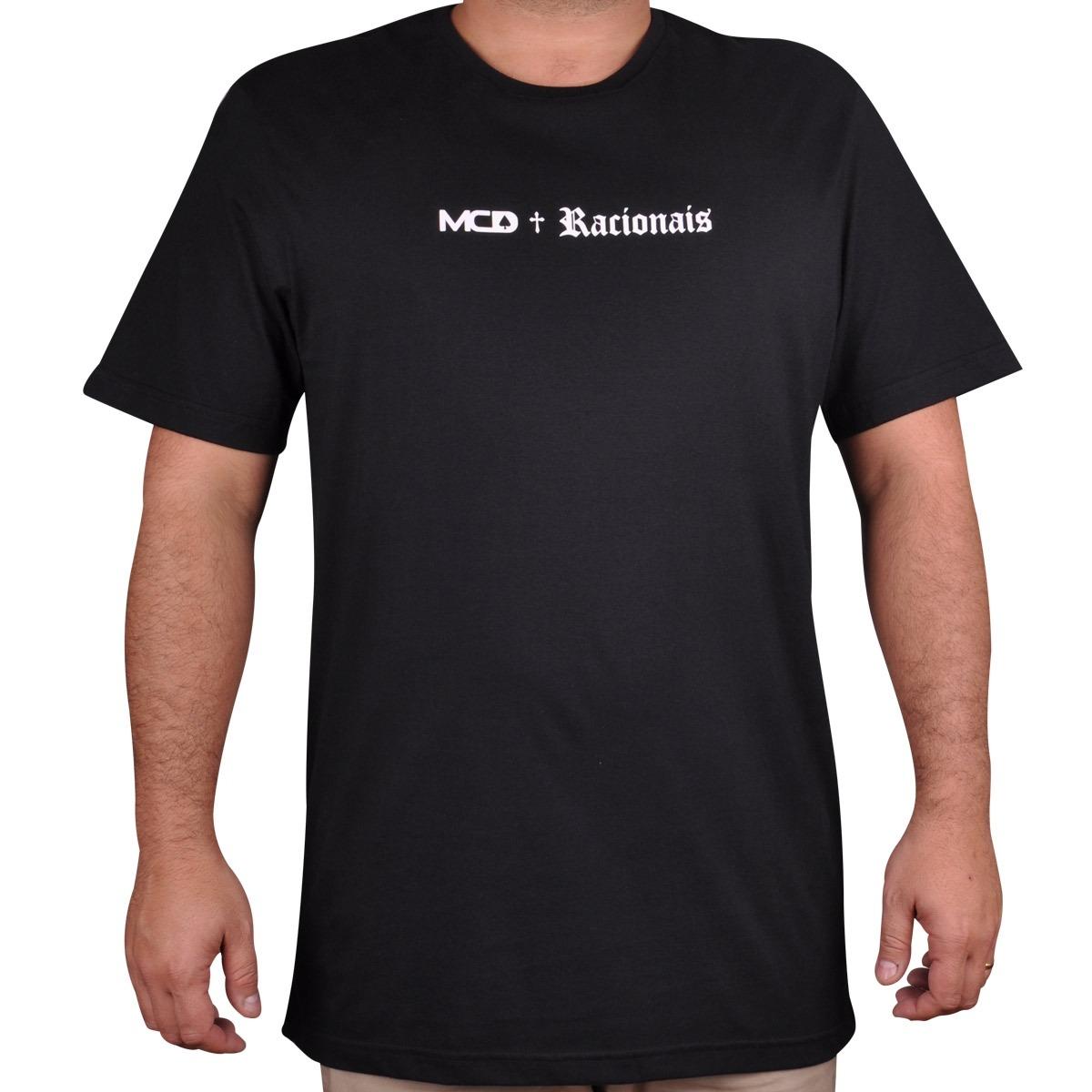 Camiseta Mcd Racionais V - Cut Wave - R  69 b5ed1b97218