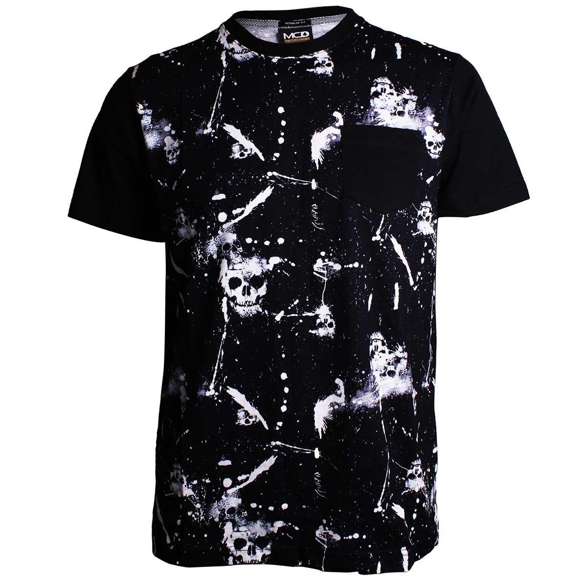 camiseta mcd regular grunge skull. Carregando zoom. dc956965484