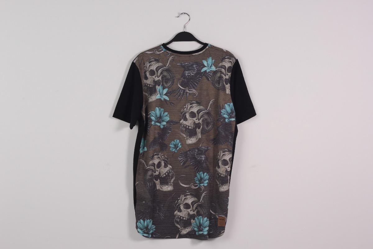 camiseta mcd scream skull especial ref. cor   cominho. Carregando zoom. c5b8d2fa7d9