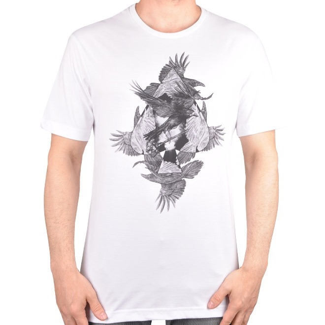 Camiseta Mcd The Crows - Cut Wave - R  69 f3f2b565b98