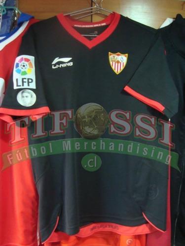 camiseta medel sevilla oficial, negra tienda tifossi