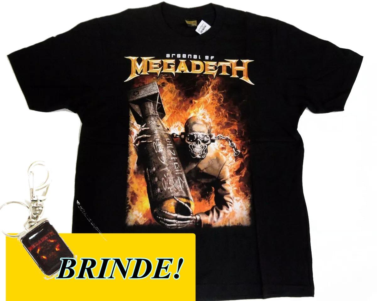 2aea446ffe8c2 Camiseta Megadeth Consulado Do Rock Cod 59 + Brinde! - R  29