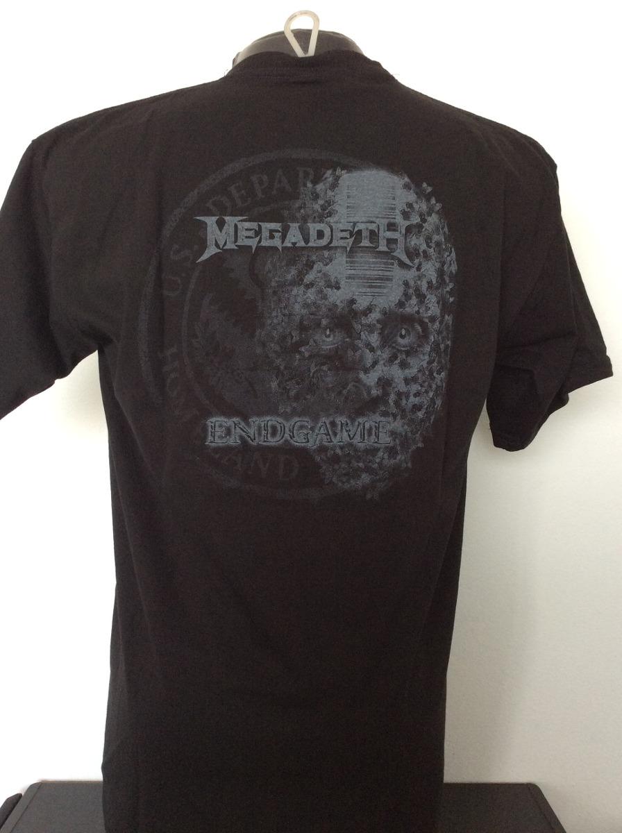 camiseta megadeth end game rock metal comics anime salsa. Cargando zoom. da74b497d8efa