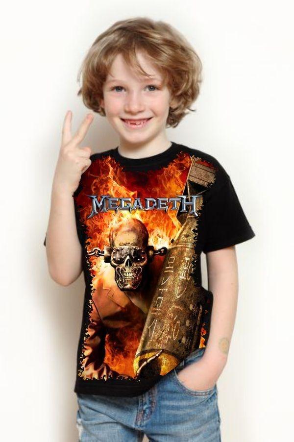 camiseta megadeth vic rattlehead. Carregando zoom. 6a9b94ac8274c