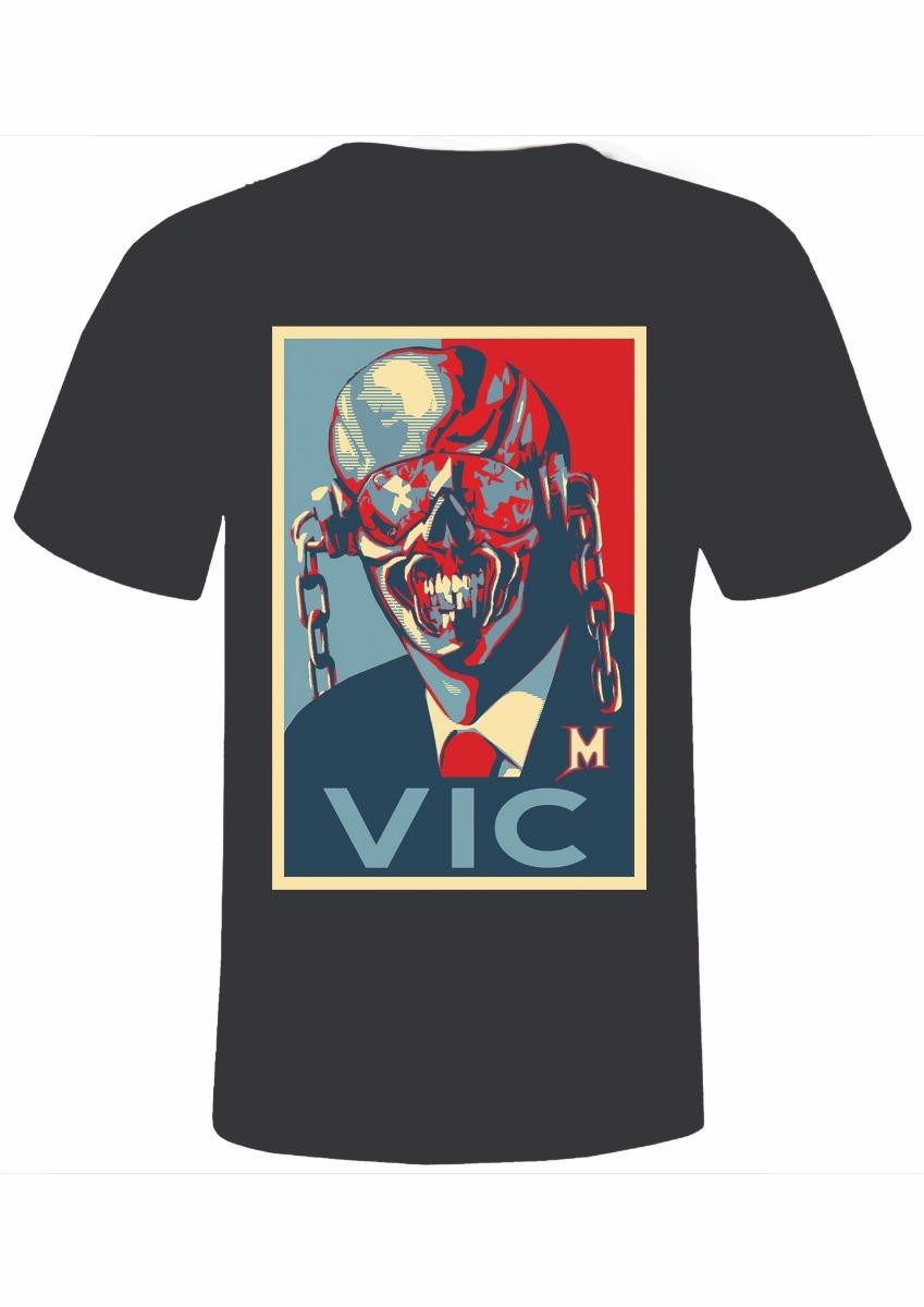 camiseta megadeth + vic rattlehead + rock + musica. Carregando zoom. 8d657291ceced