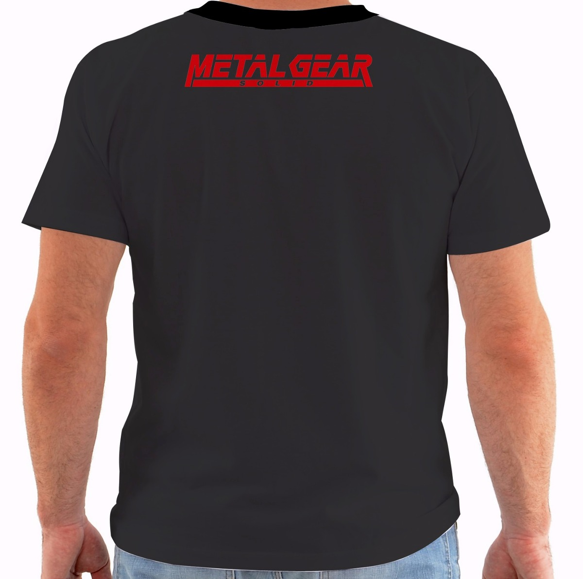 e5fdbe5fd8862 camiseta metal gear solid 4 v - solid snake guns of patriots. Carregando  zoom.