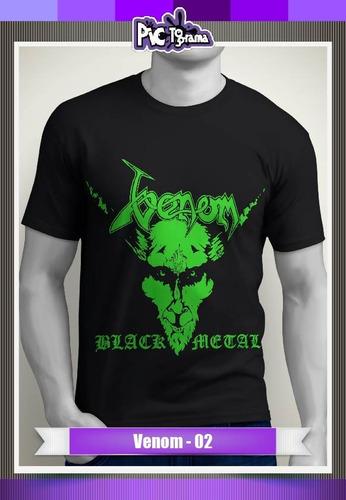 camiseta metal music - venom