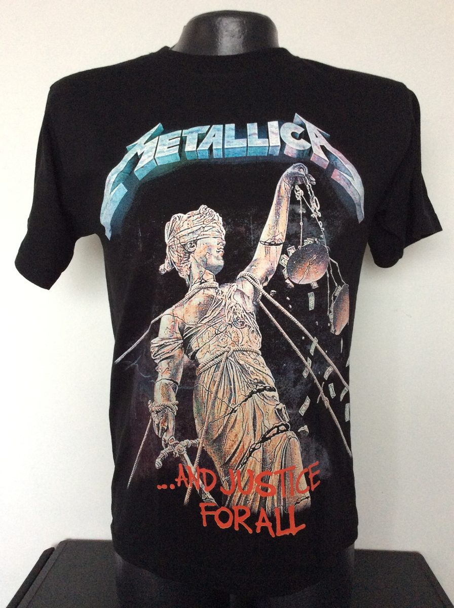 Camiseta Metallica And Justice For All Rock Metal Anime -   23.990 ... 52422a9bc8ebc