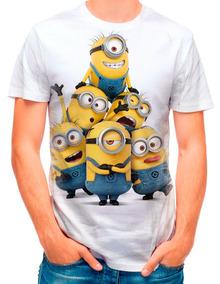 6ffcbdb2e5 Camiseta Minions Personalizada Meu Malvado Favorito no Mercado Livre Brasil