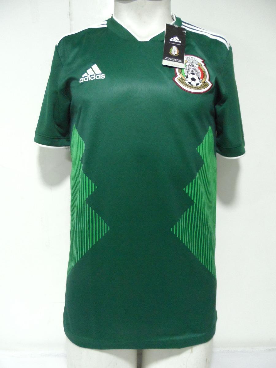 Adidas 19 Original Nueva Local México Verde Camiseta 2018 q35AjLRc4