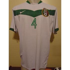 Camiseta México Alemania 2006 Márquez #4 Barcelona Xxl