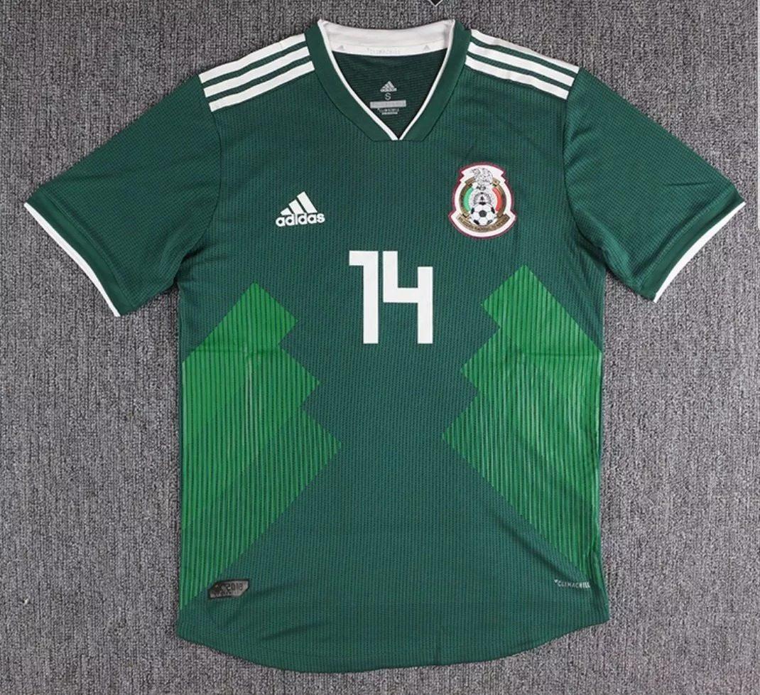 camiseta mexico chicharito 2018 original mundial rusia. Cargando zoom. 33905f9d00529