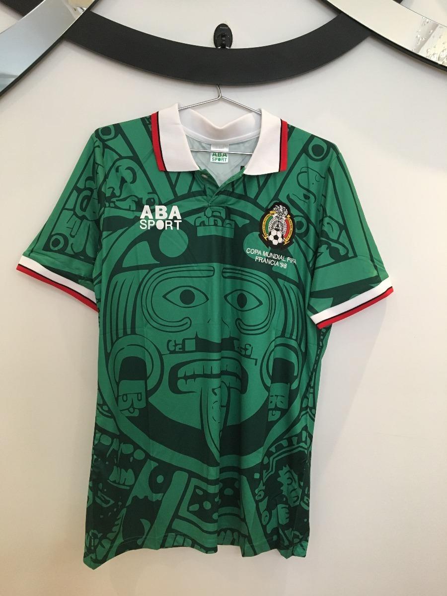 camiseta méxico - copa do mundo 1998 - pronta entrega. Carregando zoom. 368a5020ddac7