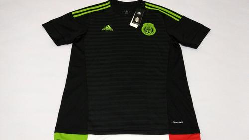 camiseta mexico local adidas original - talla s  m
