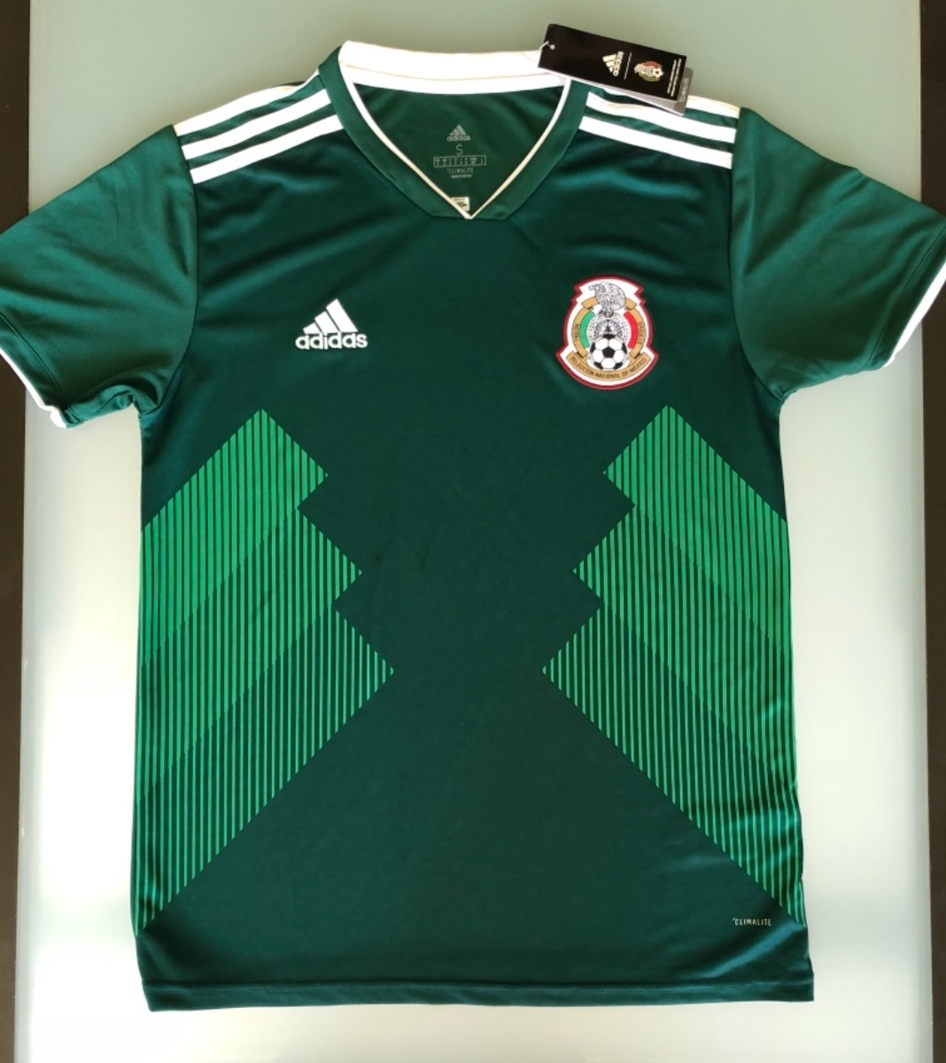 f20b0ae0b3897 Camiseta Mexico Mundial Playera Caballero Jersey -   549.00 en ...