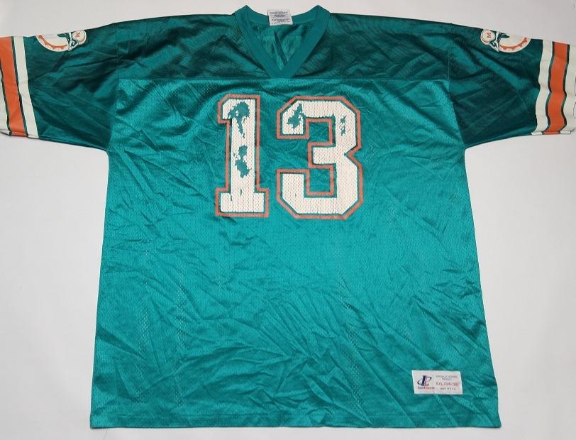76876cb4a camiseta miami dolphins dan marino  13 nfl talle xxl. Cargando zoom.