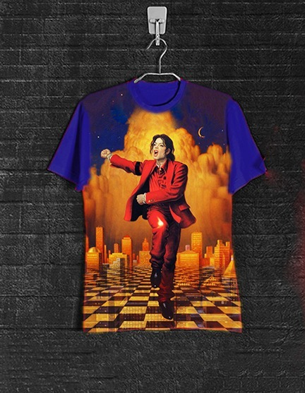 Camiseta Michael Jackson Blood On The
