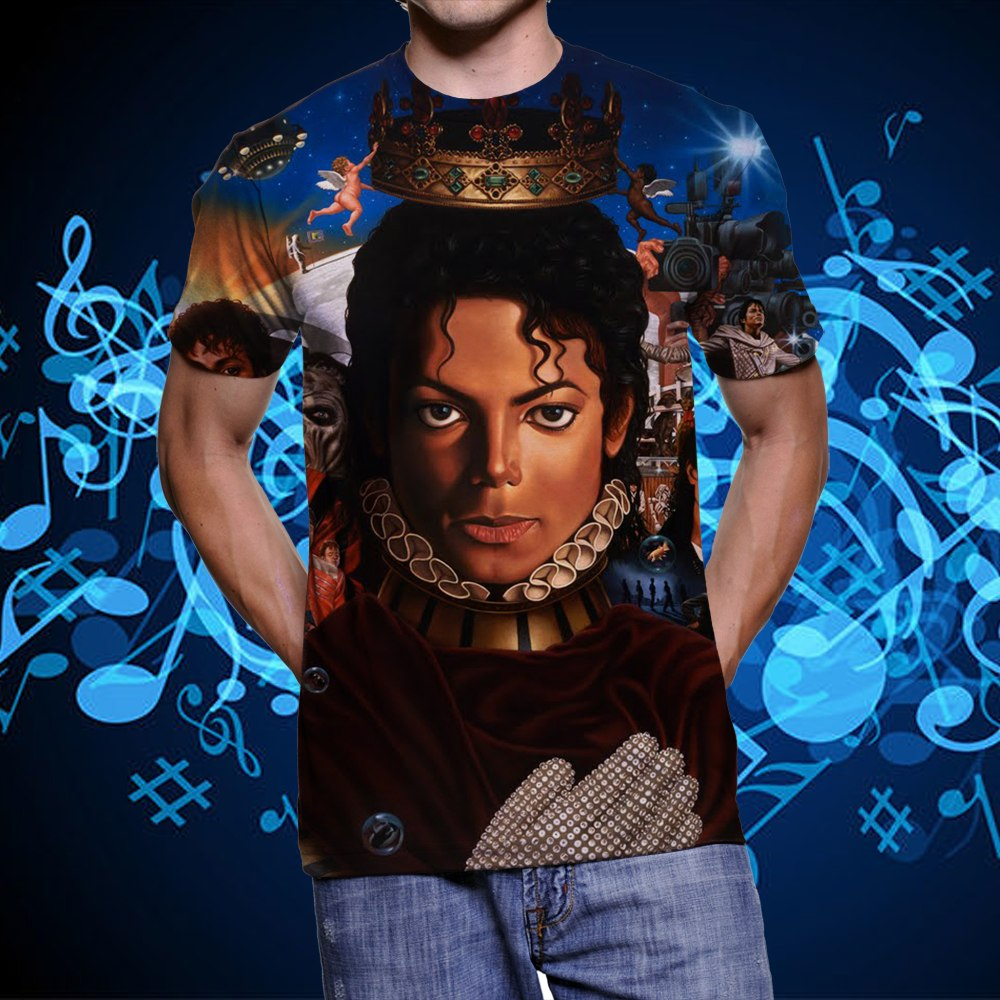 camiseta michael jackson thriller this is it history rythm. Cargando zoom. 77bec2c907a3b