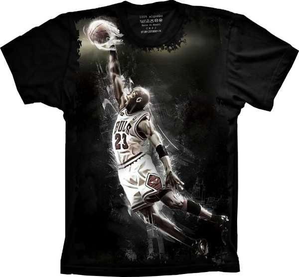 a150cf7c4ea Camiseta Michael Jordan 23 Basket Camisa Chicago Bulls Nba - R  59 ...