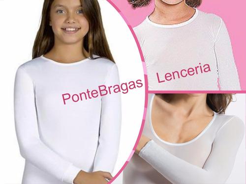 camiseta microfibra de nena (tipo medias)
