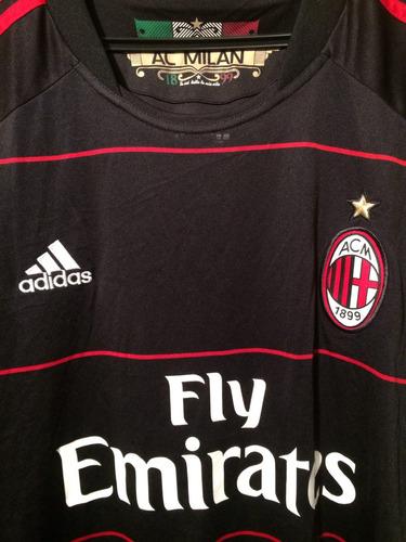 camiseta milan italia año