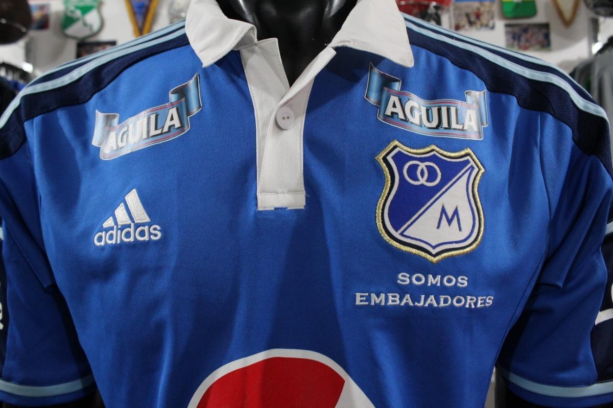 Camiseta Millonarios 2014 Talla M adidas Xdx -   80.000 en Mercado Libre d0d72a539fa
