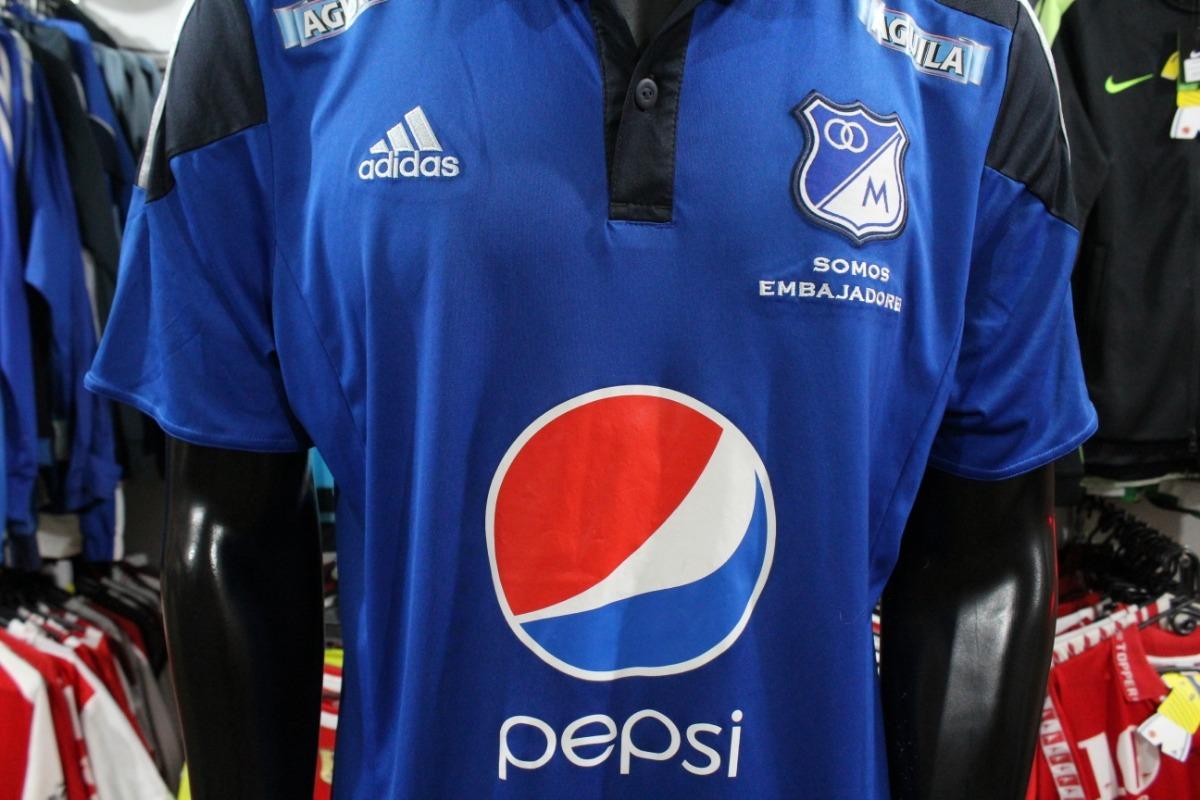 Camiseta Millonarios 2015 Talla Xl adidas Xdx -   90.000 en Mercado ... 53b8b523bcd
