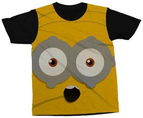 838fe6d1bd Camiseta Minions Preta - Camisetas Curta com o Melhores Preços no Mercado  Livre Brasil