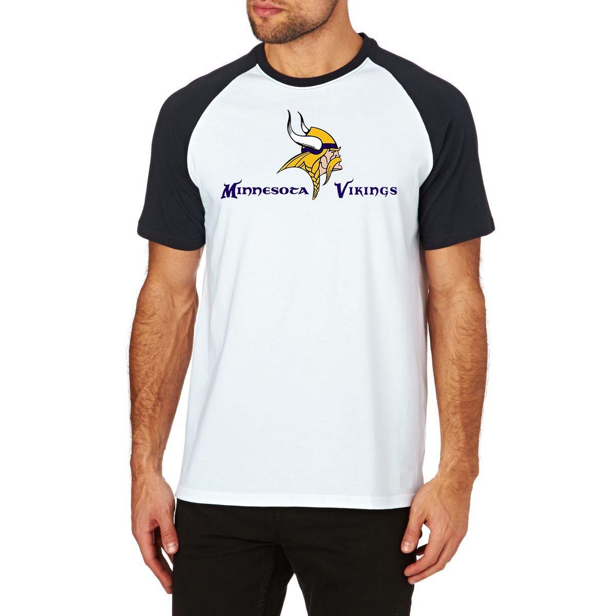 0c96a319d camiseta minnesota vikings raglan futebol americano nfl m01. Carregando zoom .