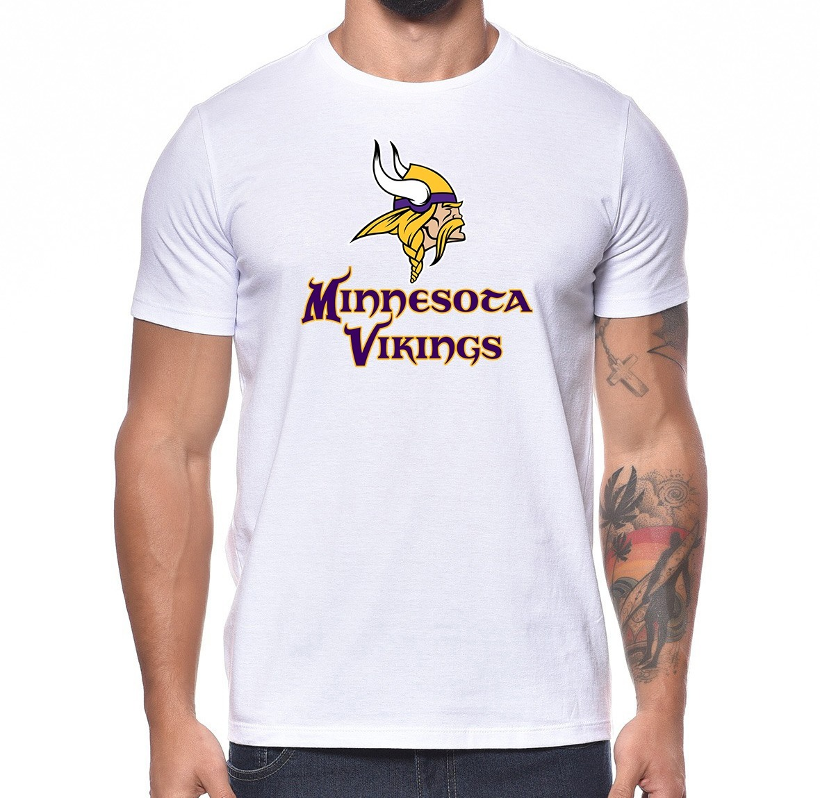 2ffcb3c59 camiseta minnesota vikings time futebol americano nfl m02. Carregando zoom.
