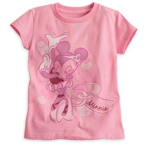 camiseta minnie mouse original disney talla 10-12