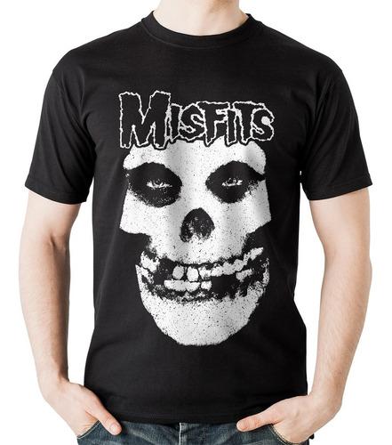camiseta misfits 2 grupo banda rock activity