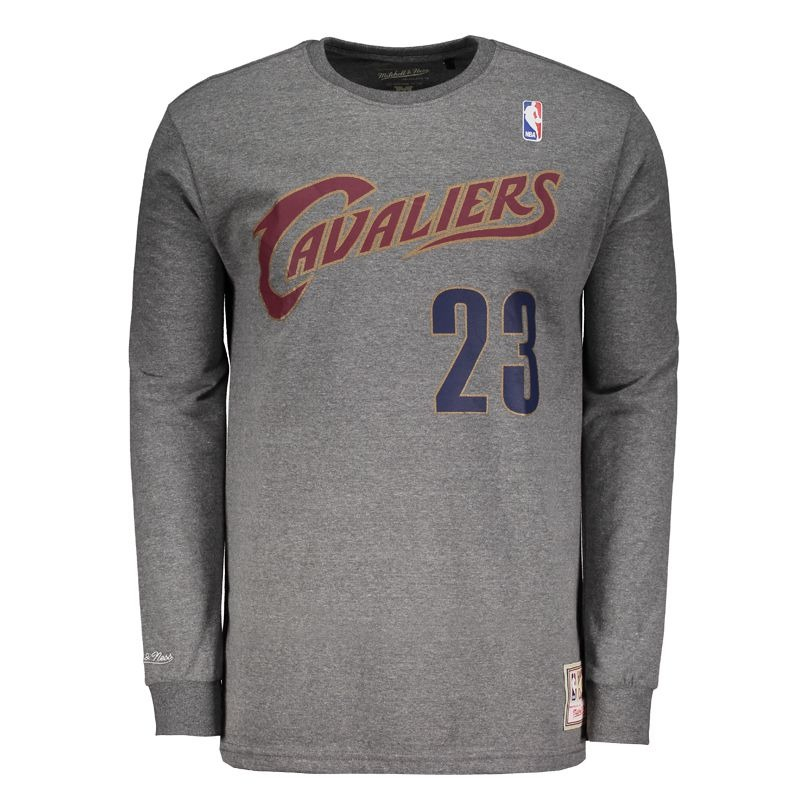 bb081cb277430 camiseta mitchell   ness nba cleveland cavaliers 23 james. Carregando zoom.