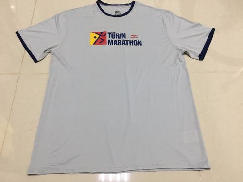 camiseta mizuno nata nel 1897 turin marathon running tam xl