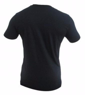 camiseta mma venum nocaute preta