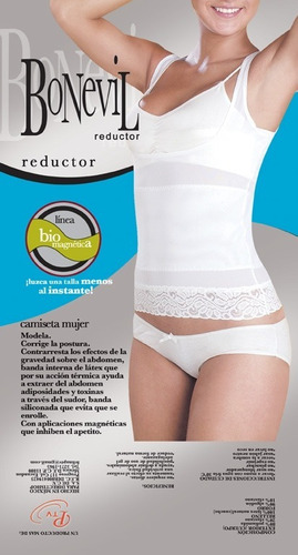 camiseta modeladora mujer bonevil 3003 corrector postura