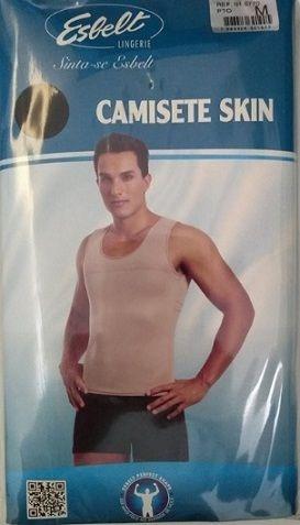 camiseta modeladora regata esbelt 5770 masculina com anvisa